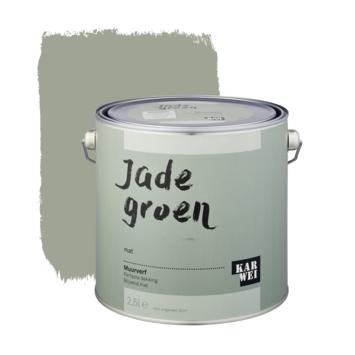 KARWEI muurverf jade groen 2,5 liter