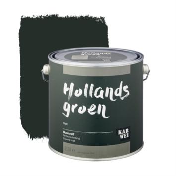 KARWEI muurverf hollands groen 2,5 liter