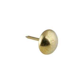 Karwei stoffeernagel vermessingd 9 mm (50 stuks)