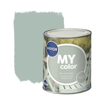 Histor My Color muurverf extra mat aqua dream 1 liter