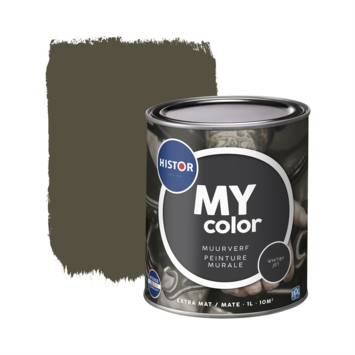 Histor My Color muurverf extra mat whitby jet 1 liter
