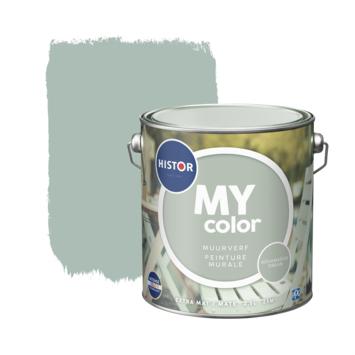 Histor My Color muurverf extra mat aqua dream 2,5 liter