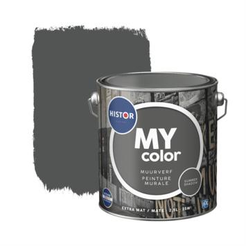 Histor My Color muurverf extra mat summershadow 2,5 liter