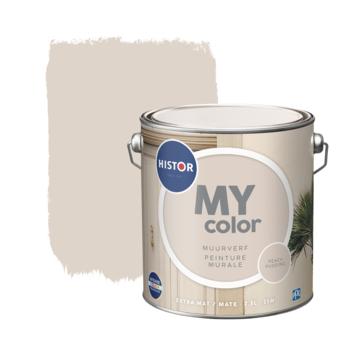 Histor My Color muurverf extra mat peach pudd. 2,5 liter