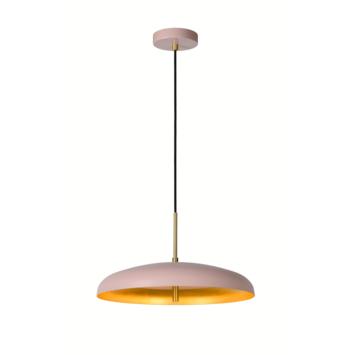 Lucide hanglamp Elgin roze
