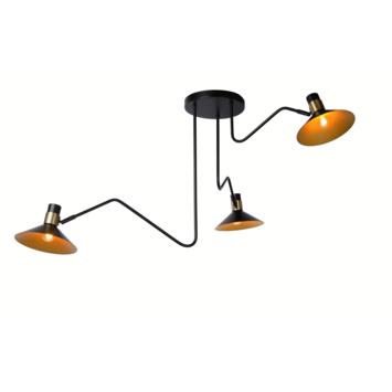 Lucide plafonniere Pepijn 3-lichts
