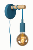 Lucide Paulien Wandlamp Kinderkamer blauw