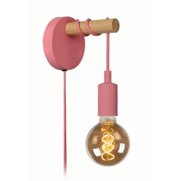 Lucide Paulien Wandlamp Kinderkamer roze