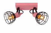 Lucide Paulien Plafondspot Kinderkamer roze