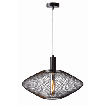 Lucide Mesh Hanglamp zwart Ø 45 cm