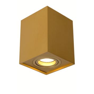Lucide Tube Plafondspot mat goud / messing