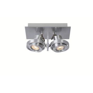 Lucide plafondspot Landa II 2x 5W aluminium