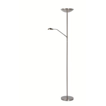 Lucide vloerlamp Zenith nikkel