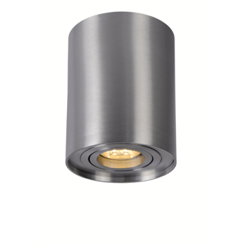 Lucide tube spot rond zilver