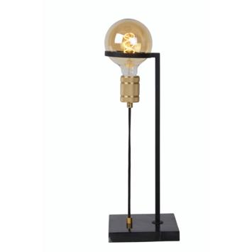 Lucide Ottelien Tafellamp Zwart