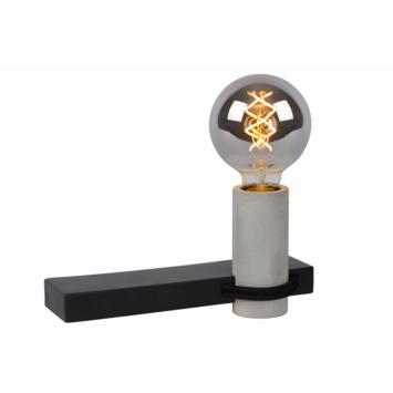 Lucide wandlamp Tanner zwart/beton