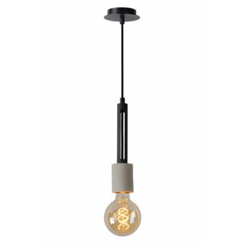 Lucide hanglamp Tanner zwart/beton