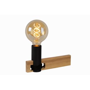 Lucide tafellamp Tanner zwart/hout