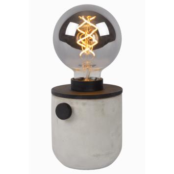 Lucide tafellamp Tanner beton/messing
