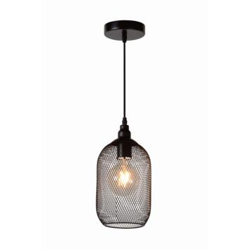 Lucide Mesh Hanglamp Zwart Ø15cm