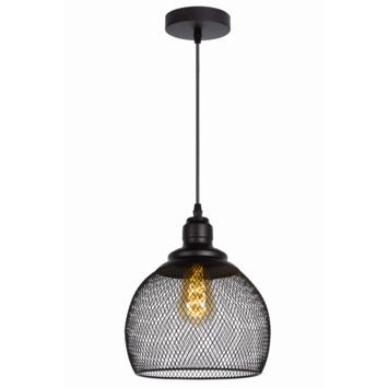 Lucide Mesh Hanglamp Zwart Ø22cm