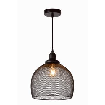 Lucide Mesh Hanglamp Zwart Ø28cm