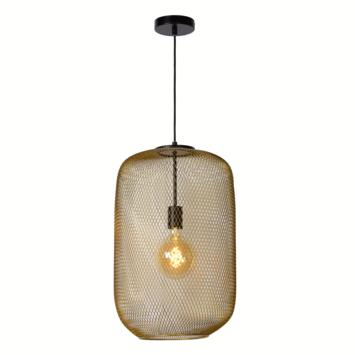 Lucide Mesh Hanglamp mat goud Ø 35cm