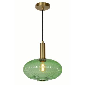 Lucide hanglamp Maloto groen Ø30cm