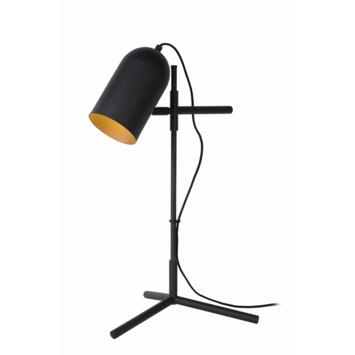 Lucide Edek Tafellamp zwart