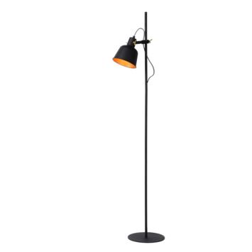 Lucide Pia Vloerlamp Zwart