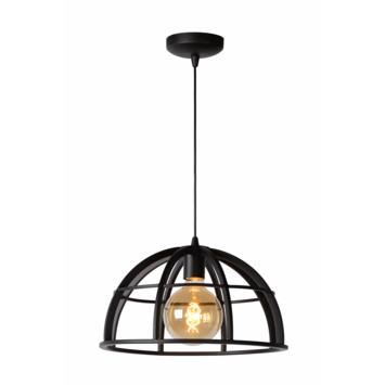 Lucide Dikra Hanglamp Zwart Ø 40 cm