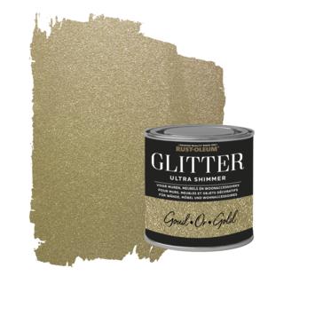 Rust-Oleum glitterverf ultra shimmer gold 250 ml