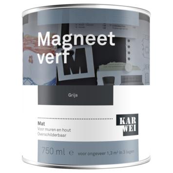 KARWEI magneetverf grijs 750 ml