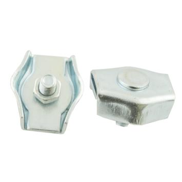 Ledent kabelklem simplex tot Ø 3 mm verzinkt (2 stuks)
