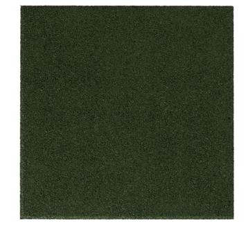Terrastegel Rubber Groen 40x40 cm - Per stuk