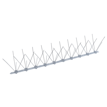 Anti Duivenstrip 50 cm RVS + kunststof