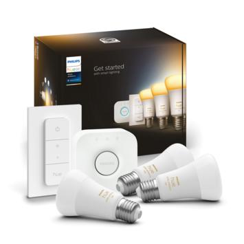 Philips Hue White Ambiance startset met 3 losse lampen