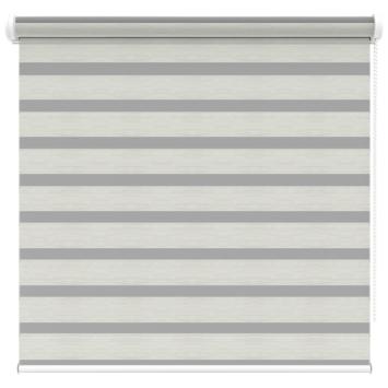 KARWEI roljaloezie streep wit/grijs melee (4404) 60x160 cm (bxh)