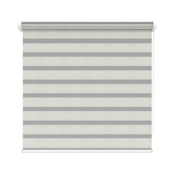 KARWEI roljaloezie streep wit/grijs melee (4404) 60x210 cm (bxh)