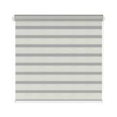 KARWEI roljaloezie streep wit/grijs melee (4404) 120x210 cm (bxh)
