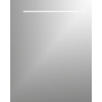 Plieger basic spiegel met verlichting - 1 zijde - 60 x 80 cm