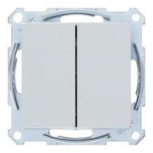 Schneider System serieschakelaar aluminium