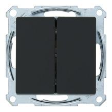 Schneider System serieschakelaar antraciet