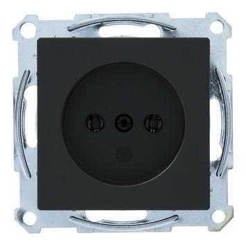 Schneider System m stopcontact enkel antraciet