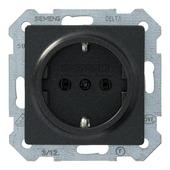 Siemens Delta stopcontact enkel antraciet