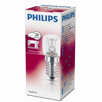 Philips naaimachinelamp helder E14 20W