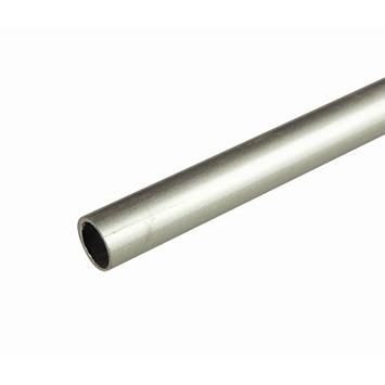 12,7 mm gordijnroede aluminium 250 cm