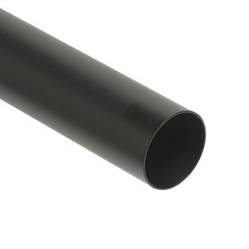 Gordijnroede Ø28 mm mat zwart roede 200 cm