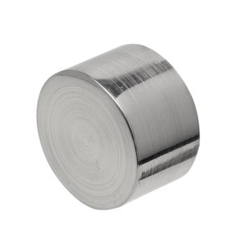 Eindknop Cap voor 28 mm gordijnroede RVS kleur 2 stuks