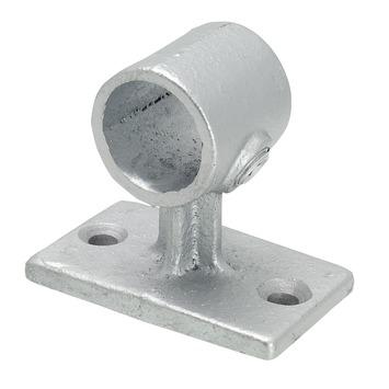 Gordijnroede steigerbuis Ø28 mm industrieel wandsteun/plafond